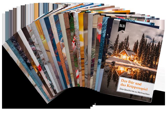 Weihnachtskarten mit Geschichte – Gesamtpaket