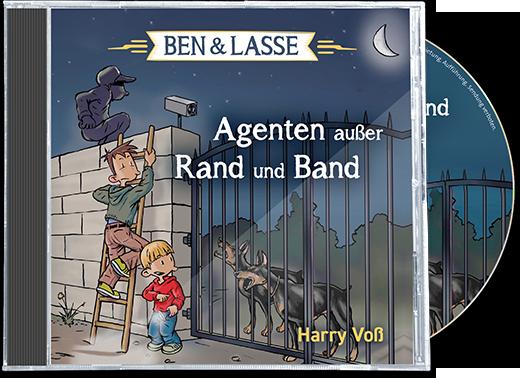 Agenten außer Rand und Band - Hörbuch