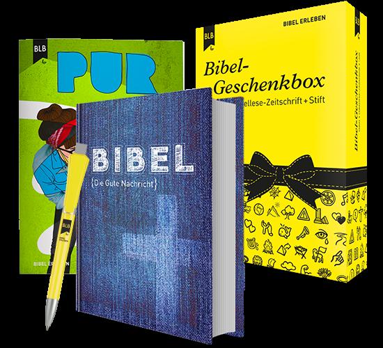 Bibel-Geschenkbox Edition Pur