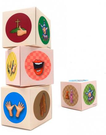 Gebets-Würfel-Set