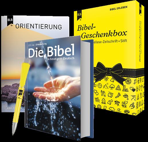 Bibel-Geschenkbox Edition Orientierung