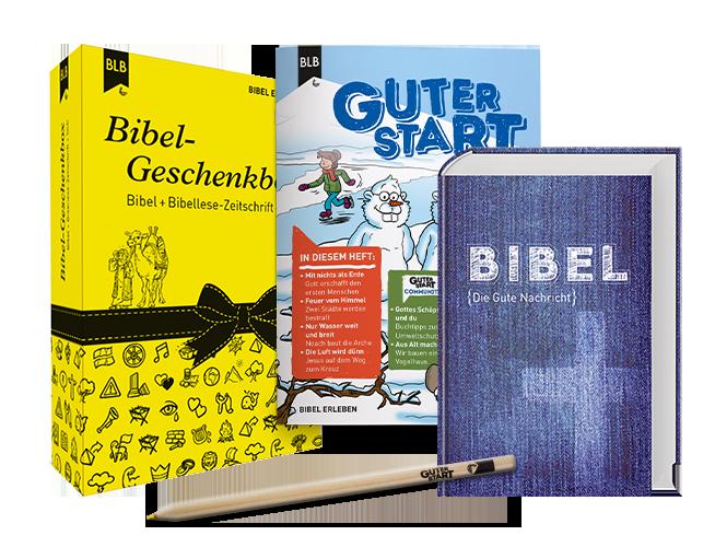 Bibel-Geschenkbox Edition Pur mit Guter Start